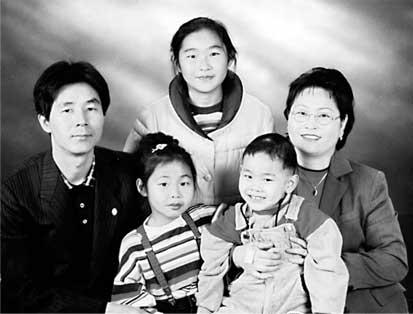 이종봉 성도님 가족사진